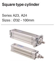 Square Type Cylinder